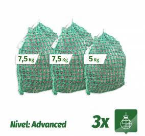 Pack 3 Sacos Slow Feeder nivel Advanced (7,5Kg + 7,5Kg + 5Kg)
