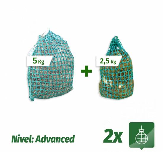 Pack 2 Sacos Slow Feeder nivel Advanced (5Kg + 2,5Kg)