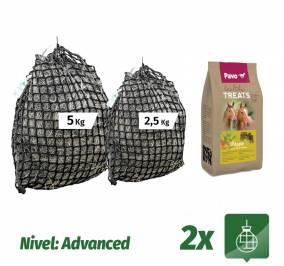 Pack Sacos 5Kg + 2,5Kg + Bolsa chuches PAVO