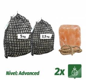 Pack Sacos 5Kg + 2,5Kg + Sal del Himalaya 2,5Kg