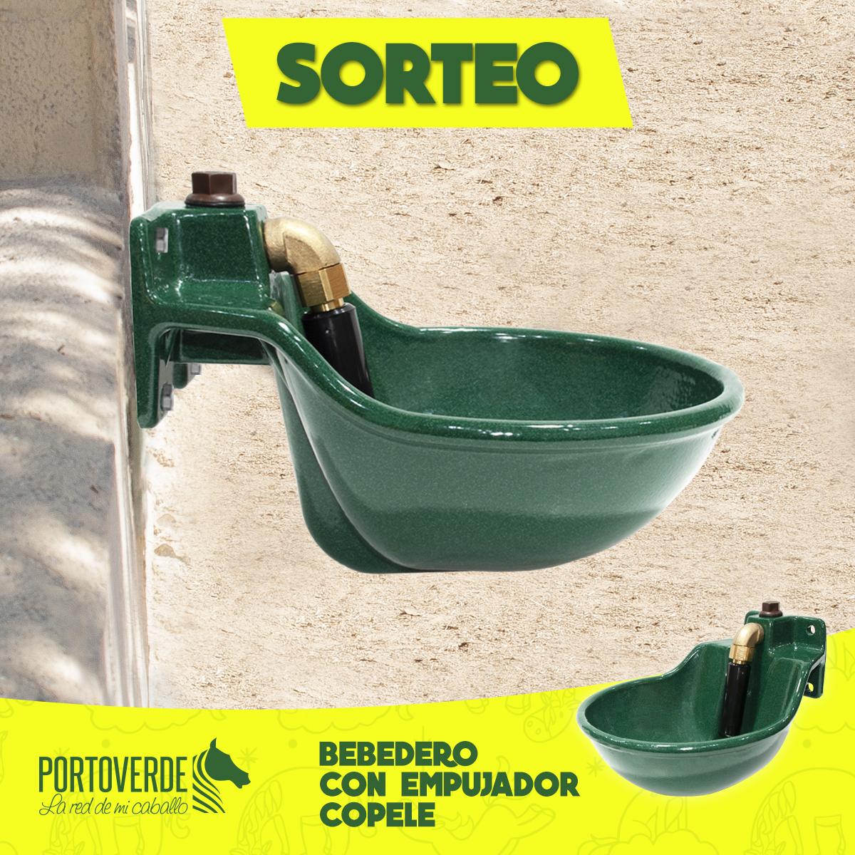 CREATIVIDAD SORTEO BEBEDERO EMPUJADOR CO