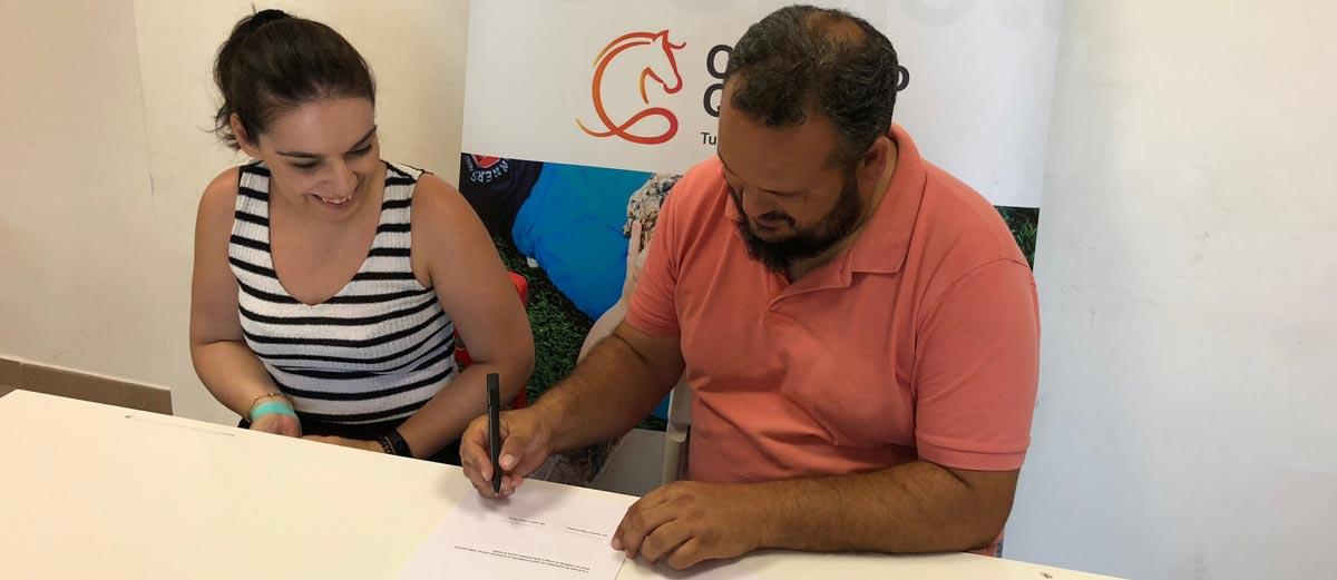 Portoverde y Centauro Quirón firman el acuerdo de colaboracion