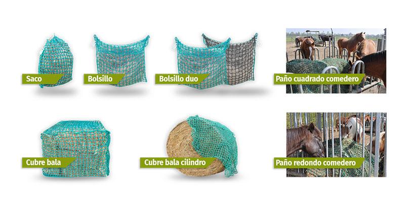 redes para heno portoverde