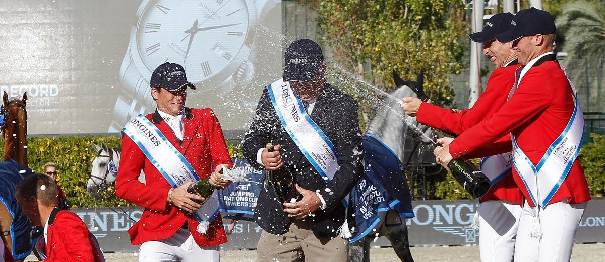 Ganadores de la final de Salto Ecuestre CSIO Barcelona 2018