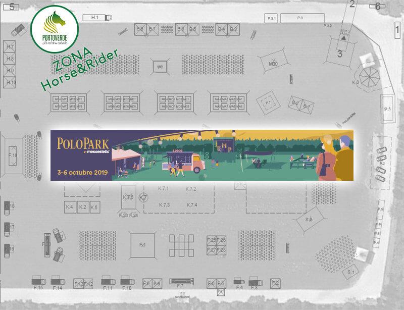 plano ubicación stand portoverde en el polopark
