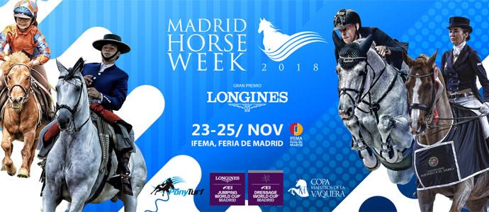 Ya está aquí Madrid Horse Week, la cita ecuestre más esperada de la temporada